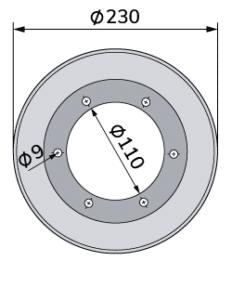 Wolframkarbid-Wellpappen-Schneidmesser für Fosber-TCB-00005