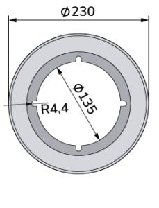 Wolframkarbid-Wellpappen-Schneidmesser für Fosber-TCB-00035